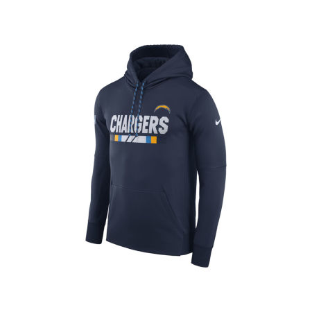 Los Angeles Chargers Nike NFL Men's Therma Hoodie