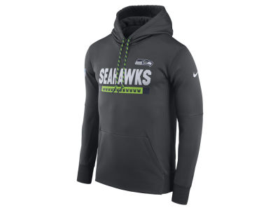 Seattle Seahawks Nike NFL Men's Therma Hoodie