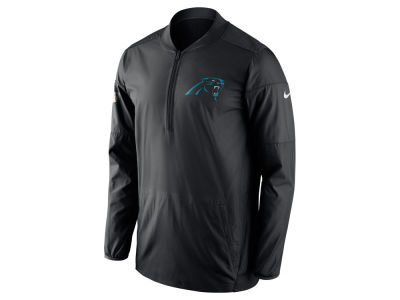 Carolina Panthers Nike NFL Men's Lockdown Quarter Zip Jacket