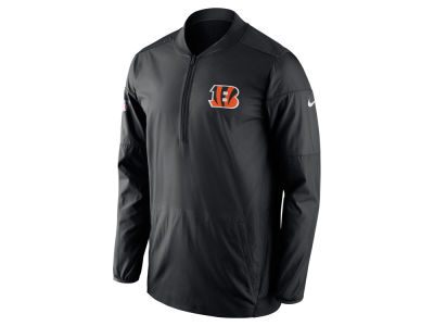 Cincinnati Bengals Nike NFL Men's Lockdown Quarter Zip Jacket