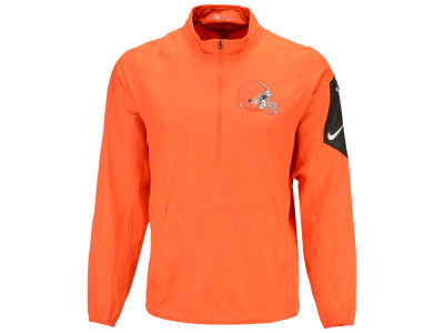 Cleveland Browns Nike NFL Men's Lockdown Quarter Zip Jacket