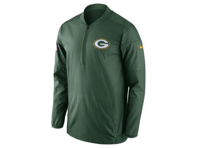 Green Bay Packers Nike NFL Men's Lockdown Quarter Zip Jacket