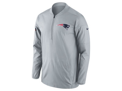 New England Patriots Nike NFL Men's Lockdown Quarter Zip Jacket