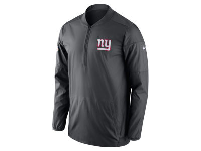 New York Giants Nike NFL Men's Lockdown Quarter Zip Jacket