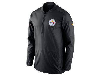 Pittsburgh Steelers Nike NFL Men's Lockdown Quarter Zip Jacket