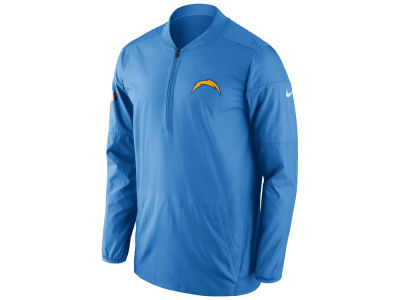 San Diego Chargers Nike NFL Men's Lockdown Quarter Zip Jacket