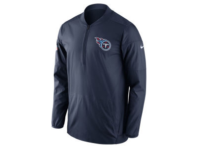 Tennessee Titans Nike NFL Men's Lockdown Quarter Zip Jacket