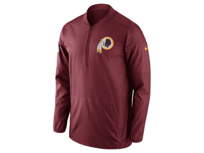 Washington Redskins Nike NFL Men's Lockdown Quarter Zip Jacket