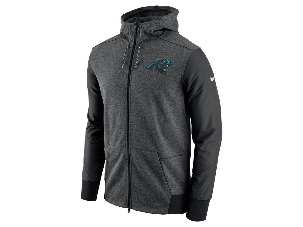 Nike Carolina Panthers NFL Men's Full-Zip Hoodie