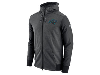 Carolina Panthers Nike NFL Men's Travel Full Zip Hoodie
