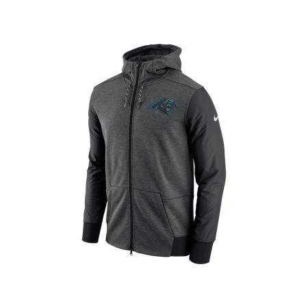Carolina Panthers Nike NFL Men's Travel Full Zip Hoodie