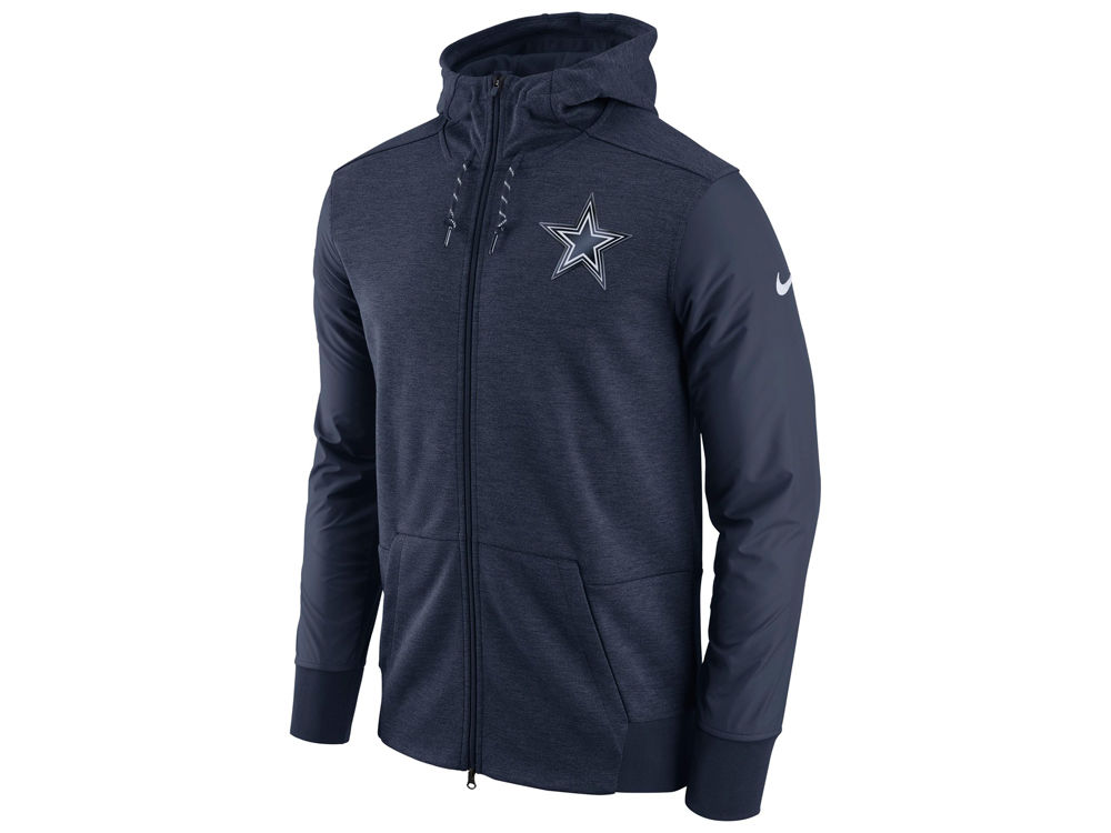 Dallas Cowboys Nike NFL Men s Travel Full Zip Hoodie  6118efa2a
