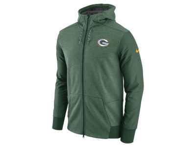 Green Bay Packers Nike NFL Men's Travel Full Zip Hoodie