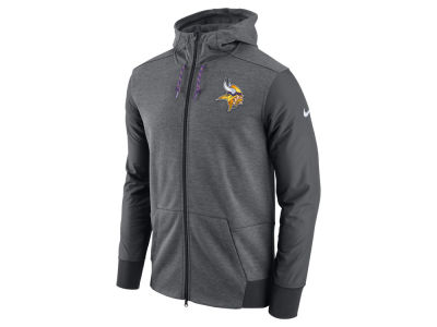 Minnesota Vikings Nike NFL Men's Travel Full Zip Hoodie