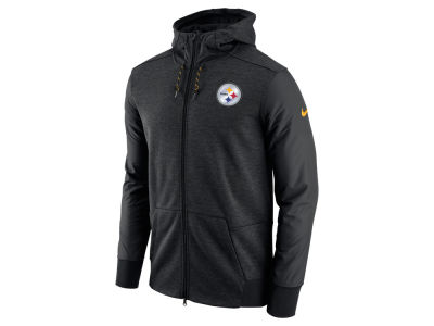 Pittsburgh Steelers Nike NFL Men's Travel Full Zip Hoodie