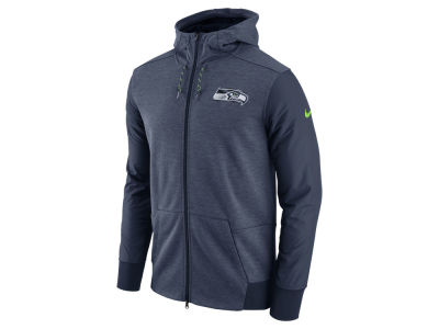 Seattle Seahawks Nike NFL Men's Travel Full Zip Hoodie