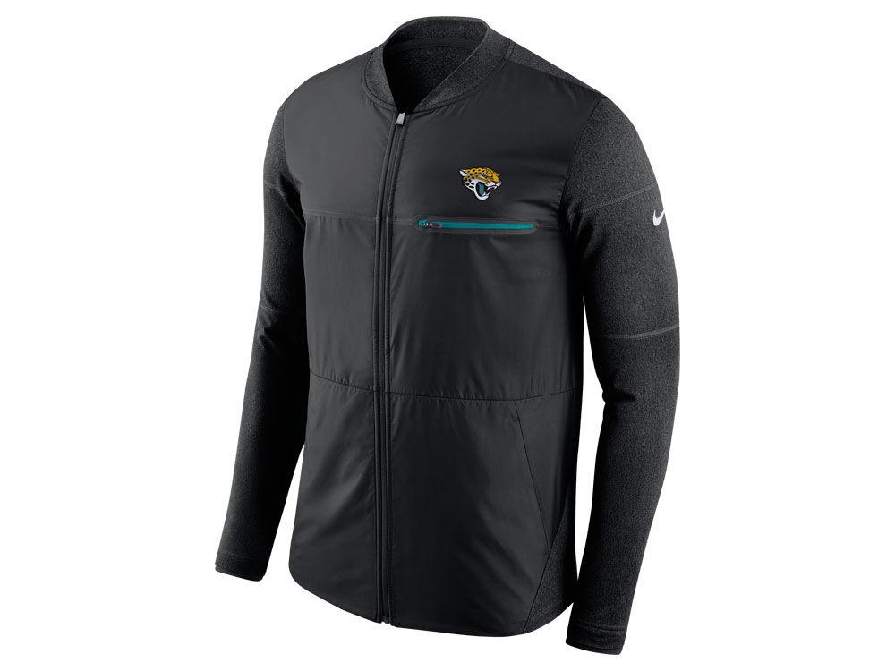 Jacksonville Jaguars Nike NFL Men s Shield Hybrid Jacket  3c8dd6dce