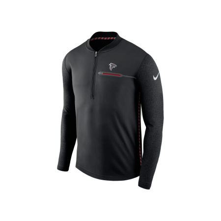 Atlanta Falcons Nike NFL Men's Coaches Quarter Zip