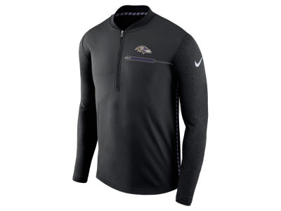 Baltimore Ravens Nike NFL Men's Coaches Quarter Zip