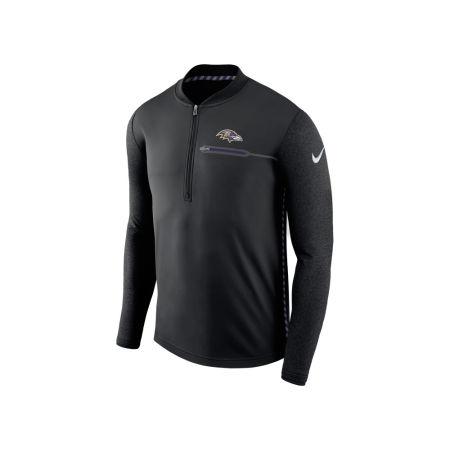 Baltimore Ravens Nike NFL Men's Coaches Quarter Zip