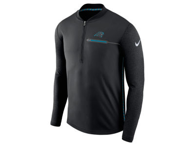 Carolina Panthers Nike NFL Men's Coaches Quarter Zip