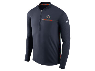Chicago Bears Nike NFL Men's Coaches Quarter Zip
