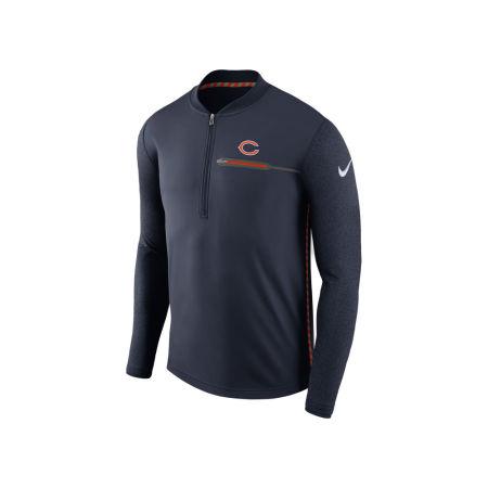 Chicago Bears Nike NFL Men's Coaches Quarter Zip