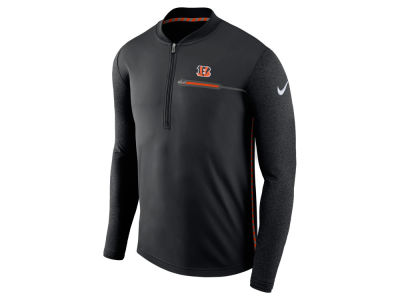 Cincinnati Bengals Nike NFL Men's Coaches Quarter Zip