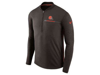 Cleveland Browns Nike NFL Men's Coaches Quarter Zip