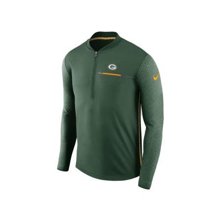 Green Bay Packers Nike NFL Men's Coaches Quarter Zip
