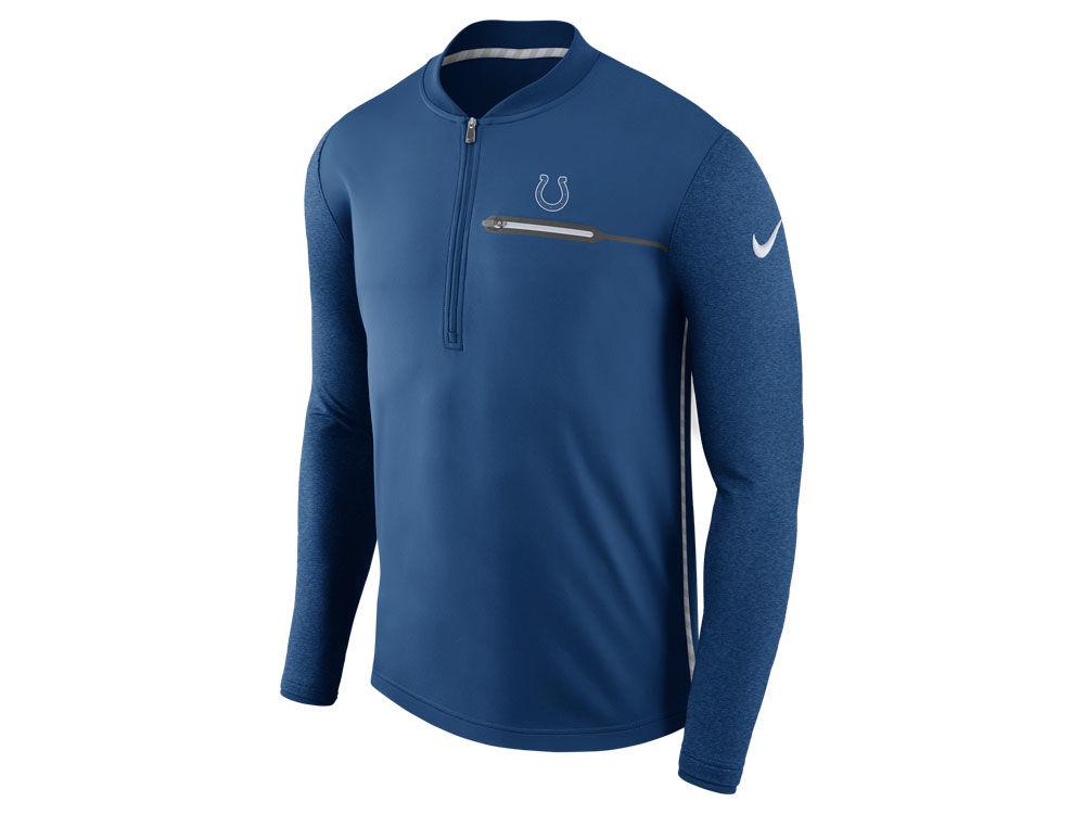 2a2196b2 Indianapolis Colts Nike NFL Men's Coaches Quarter Zip