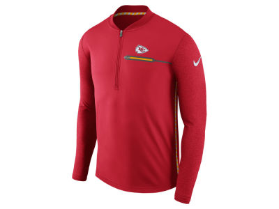 Kansas City Chiefs Nike NFL Men's Coaches Quarter Zip