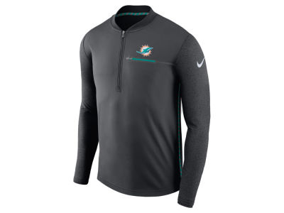 Miami Dolphins Nike NFL Men's Coaches Quarter Zip