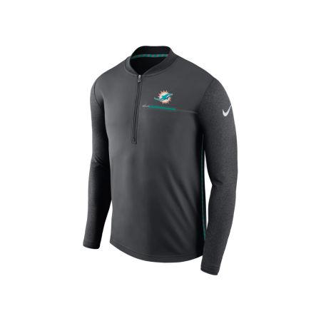 Miami Dolphins Nike NFL Men's Coaches Quarter Zip