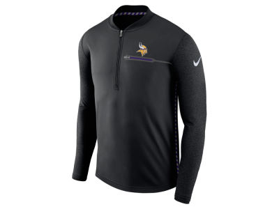 Minnesota Vikings Nike NFL Men's Coaches Quarter Zip