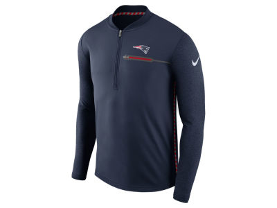 New England Patriots Nike NFL Men's Coaches Quarter Zip