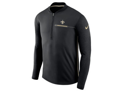 New Orleans Saints Nike NFL Men's Coaches Quarter Zip