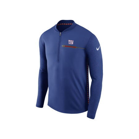 New York Giants Nike NFL Men's Coaches Quarter Zip