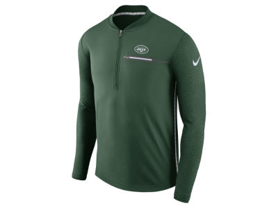 New York Jets Nike NFL Men's Coaches Quarter Zip