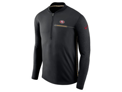 San Francisco 49ers Nike NFL Men's Coaches Quarter Zip
