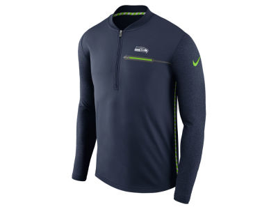 Seattle Seahawks Nike NFL Men's Coaches Quarter Zip
