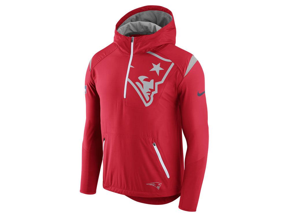 78a758c9e4 New England Patriots Nike NFL Men s Lightweight Fly Rush Jacket ...