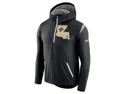 New Orleans Saints Nike NFL Men's Lightweight Fly Rush Jacket