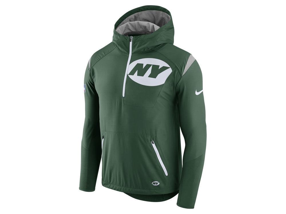 e4e472964 New York Jets Nike NFL Men s Lightweight Fly Rush Jacket