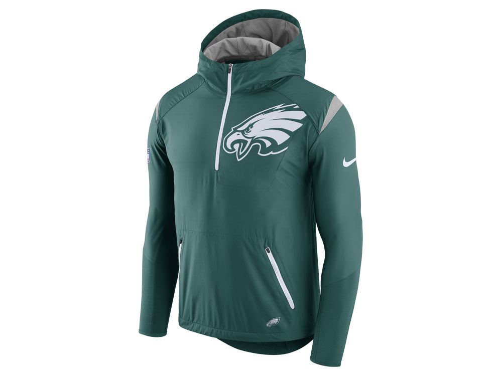 b7f56ebf6 Philadelphia Eagles Nike NFL Men's Lightweight Fly Rush Jacket