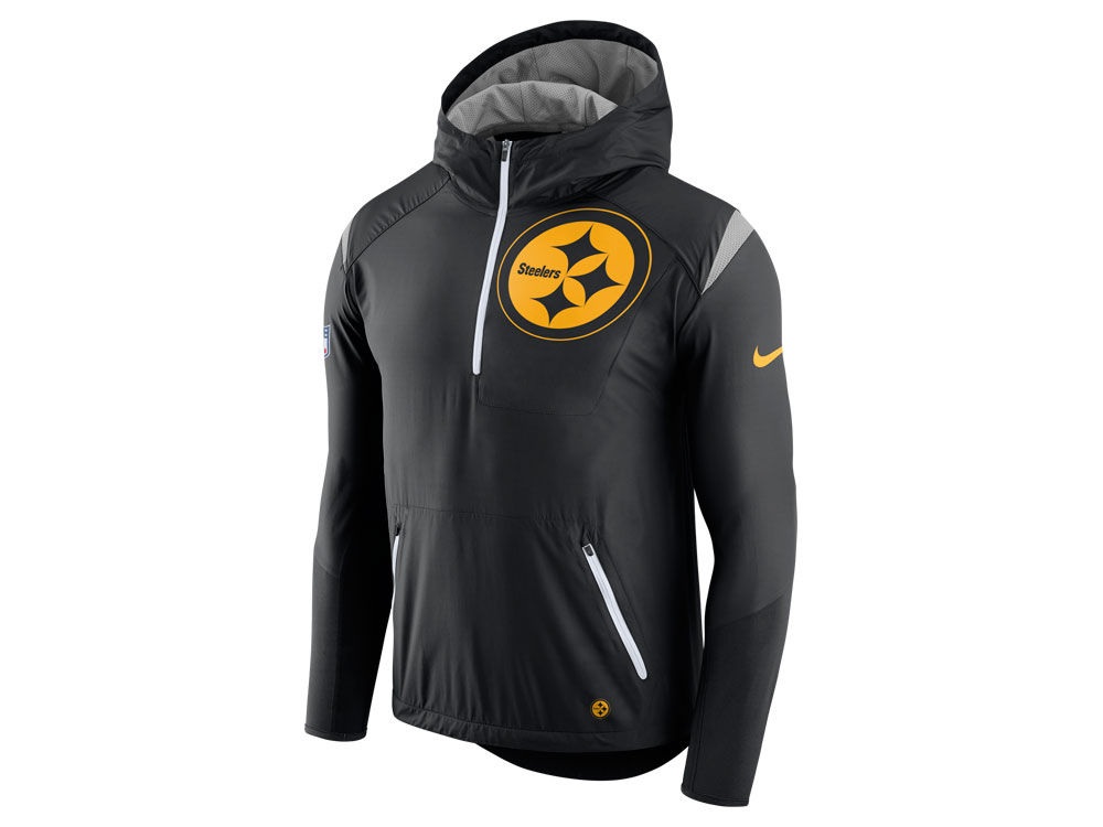 Pittsburgh Steelers Nike NFL Men s Lightweight Fly Rush Jacket  c3f4eb6cf