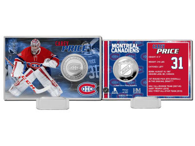 Montreal Canadiens Carey Price Coin Card - Player