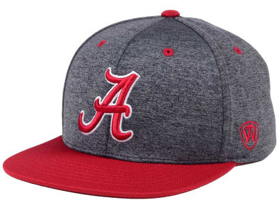 Alabama Crimson Tide Top of the World NCAA Dark Energy 2Tone Snapback Cap