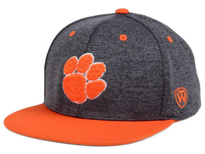 Clemson Tigers Top of the World NCAA Dark Energy 2Tone Snapback Cap