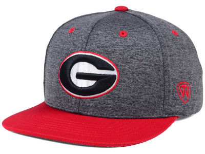 Georgia Bulldogs Top of the World NCAA Dark Energy 2Tone Snapback Cap